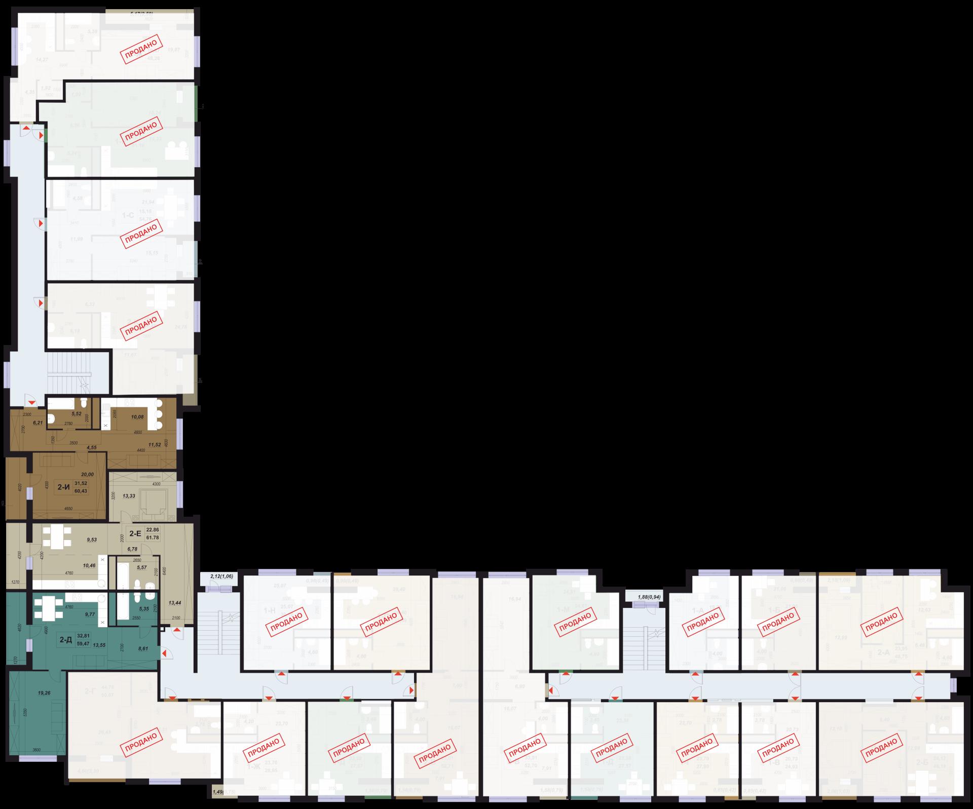 13 будинок